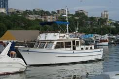 Срочно продам катер Trawler 42' 1988 года. Владивосток