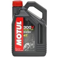 Motul 300V. 5W-30, синтетическое, 4,00л.