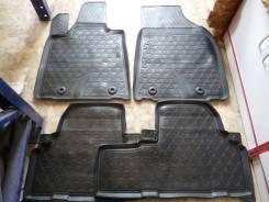 Ковры в салон Lexus RX 270/350/450H 2012 г., полиуретан, черные