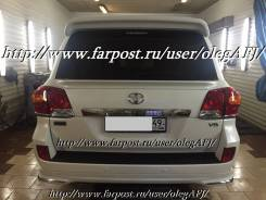 Задний спойлер WALD для Toyota Land Cruiser 200 с 2012г. +