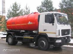 КО-529-15 на шасси МАЗ 5340В2-425-000 (КПП-ZF) вакуумная Евро-4