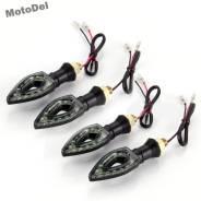 Поворотники светодиодные на мотоцикл, 12 LED