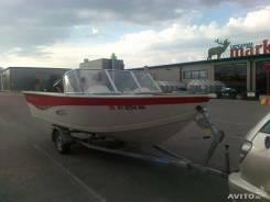 Катер алюминиевый для рыбалки Starcraft с подвесным мотором Mercury 90