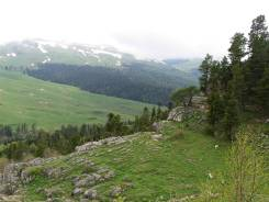 Обменяю на технику участок в горах Краснодарского края.