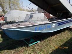 """Продам   лодку   """"   воронеж""""       с   местом   на   базе   металлург"""