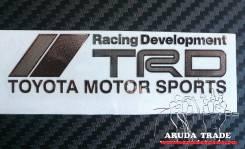 Металлизированная наклейка Racing Development TRD TMS  (Хром)