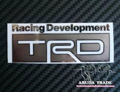 Металлизированная наклейка TRD Racing Development (Хром)