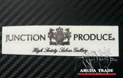 Металлизированная наклейка Junction Produce (JP) (хром)