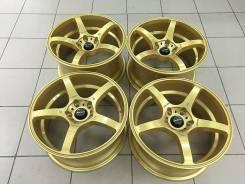 JDM! Комплект дисков Prodrive r17 8/9j +40/+35 5*114.3