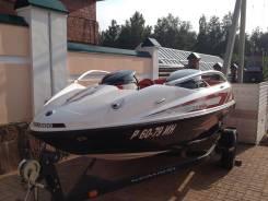 Катер BRP-seadoo speedster wake 430 twin rotax 4-tec+Телега+ватрушка
