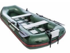 Надувная лодка с деревянным дном. BARG