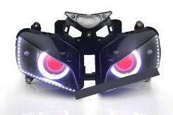 Фара ангельские глазки на Honda CBR1000RR 04-07