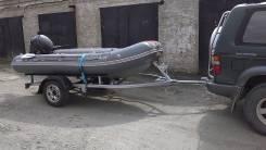 Лодка риб+телега +мотор