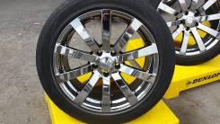 Статусные VIP диски, шикарный хром Bridgestone BEO 5х114,3 et 38 R18