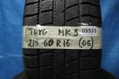 Toyo Winter Tranpath MK3. всесезонные, 2005 год, б/у, износ 30%