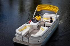 Sun Tracker Barge понтонный катер