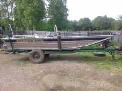 """Алюминиевая лодка """"Мастер 600"""""""