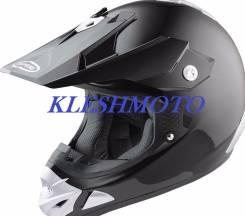 Скидка  шлем для мотокросса и эндура размер Lчерный глянец