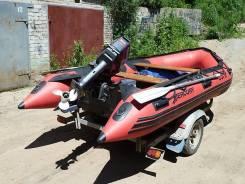Продам лодку 380 c yamaha 30