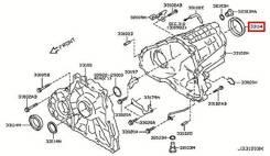 Сальник раздатки Infiniti, Nissan OEM Japan в наличии