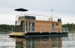 Продам понтон, дебаркадер, houseboat, плавдача, дом на воде