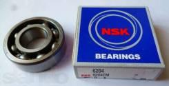 Подшипник коленвала Nsk(6204)(47х20х14) - Suzuki Lets