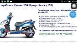 Cronus Kazoku-150, 2014