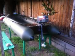 Продам лодку пвх + подвисной мотор Yamaha 2с в отличном состоянии