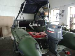 Продам лодку солар 555 на ямахе-40 винт+водомет. Обмен НА Пилмат. Снегох