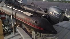 Лодка corsar 430 с мотором Ymaha 25, 4 тактный: 160 тыс. руб