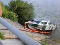 Катер на водомёте. двигатель тойота 3s.