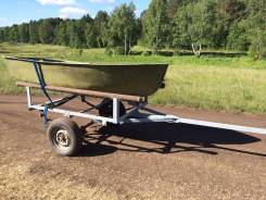Лодка Ерш с прицепом