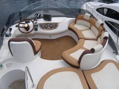 Перетяжка катерной мебели, салонов катеров, яхт