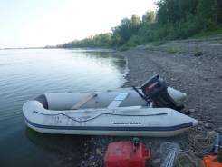 Продам лодку Aquasparks 380 с мотором Tohatsu 18