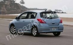 Спойлер Nissan Tiida 2004-2012