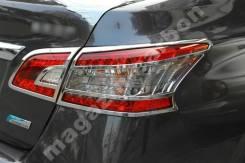Накладки на оптику Nissan Sylphy/Sentra 2013-2015. Nissan Sylphy Nissan Sentra