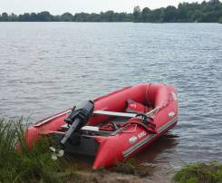 Продам лодку БРИГ 4.2 метра, мотор ямаха 30 л. с, прицеп автомобильный