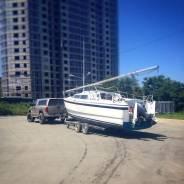 Продам моторную яхту Macgregor 26x  с прицепом