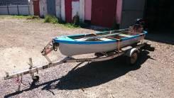 Продам лодку пластиковую 3,6 метра производства России