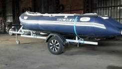 Продам отличную лодку соллар 400 с прицепом и мотором ямаха 30