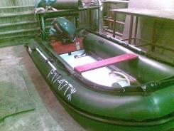 Лодка Stingray+Мотор Yamaha 25+Телега