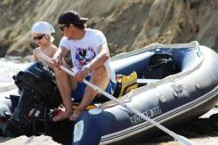 Продам лодку Solar 380K с мотором Suzuki DF20
