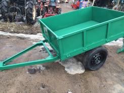 Прицеп самосвальный тележка на мини трактор , 2015