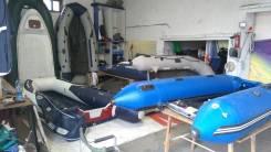 Профессиональный ремонт надувных лодок, ремонт баллонов лодок РИБ