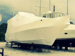 Упаковка лодок, яхт, катеров на хранение