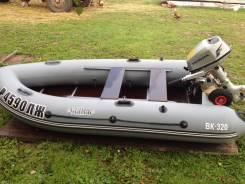 Продам Лодку Свирь 320 + мотор honda FS