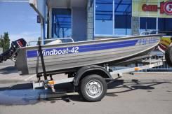 Продается комплект Windboat 42 + Nissan Marine 18 2T