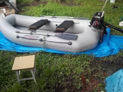 Продам лодку с мотором suzuki 2.5 четырёхтактный