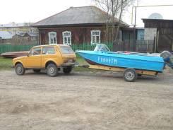 """Лодка """"Ока-4"""" с мотором В-30"""
