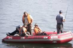 Продам лодку ПВХ Zebec-420 c подвесным лодочным мотором Nissan-25